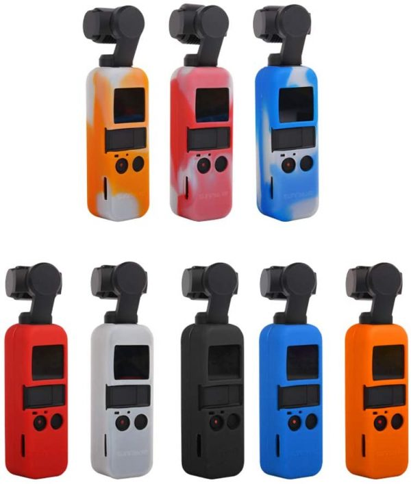 Silicone Protective Cover with lanyard For DJI OSMO Pocket