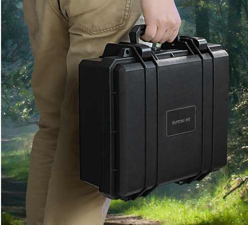 Sunnylife Waterproof Hardshell Box Handheld Storage Bag Safety Carrying Case For DJI