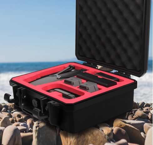 Sunnylife Waterproof Hardshell Box Handheld Storage Bag Safety Carrying Case For DJI MAVIC 2
