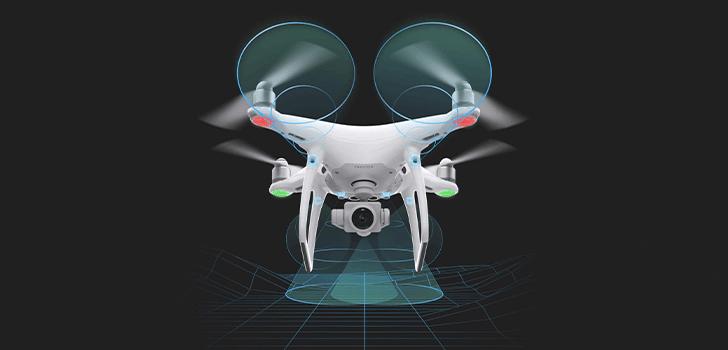 سیستم مسیریابی شش دوربینه فانتوم4