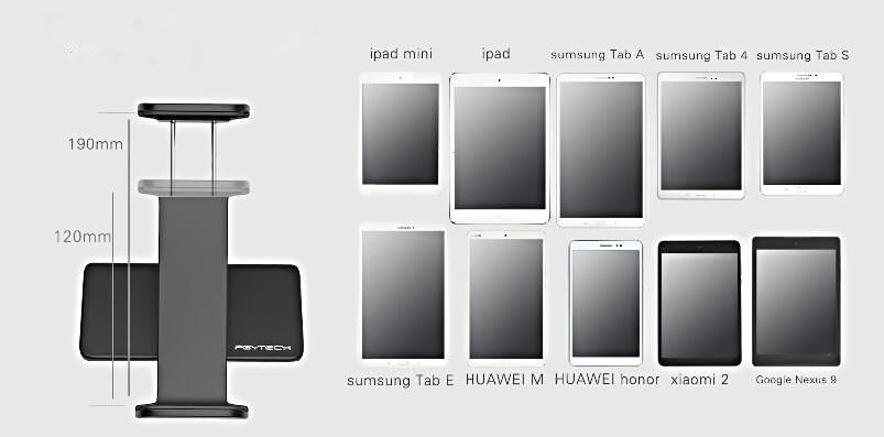 remote tablet holder